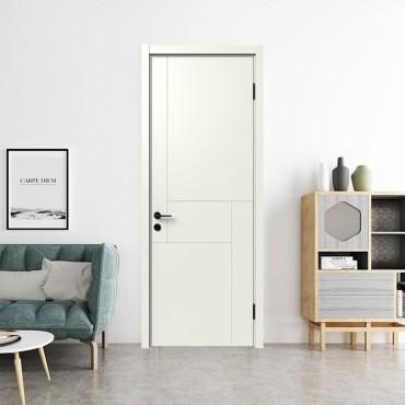 派的门,实木复合门,MA-016 淡雅奶白|燕麦色|轻奢灰|烟熏色|金色樱桃