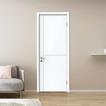 派的门 油漆木门 YA-001 混油白|99分白|莫兰迪灰