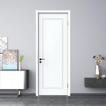 派的门 油漆木门 YA-003 混油白|99分白|莫兰迪灰