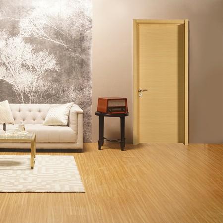 派的门实木复合门PAD001横纹米橡