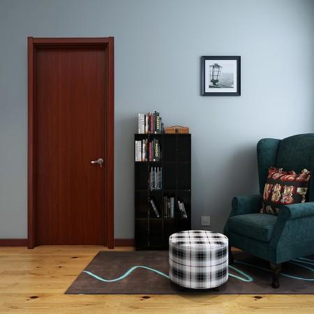 派的门实木复合门PAD001落基枫雨