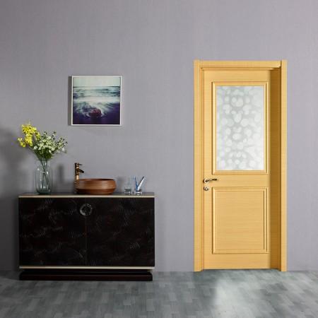 派的门实木复合门MX-002B横纹米橡
