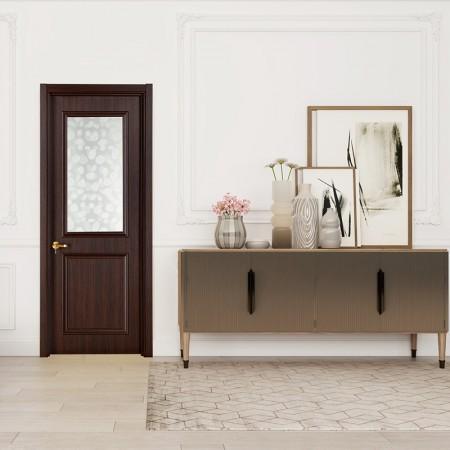 派的门实木复合门PBL005金胡桃
