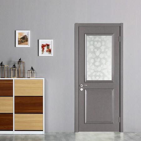 派的门实木复合门MX-002B影灰