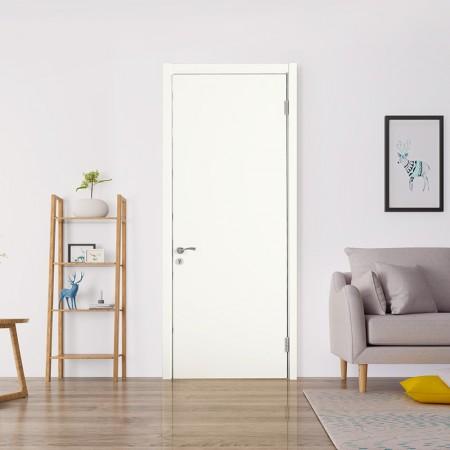 派的门实木复合门PAD001瓷白