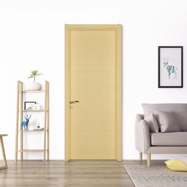 派的门 实木复合门 MP-001横纹米橡