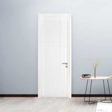 派的门 实木复合门 MA-003瓷白