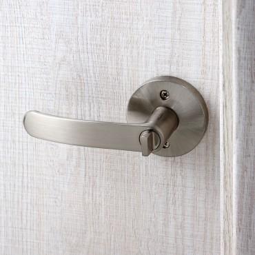 派的门标准五金锁具KZ014银色(不单卖、不含门吸)