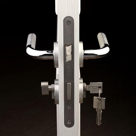派的门标准五金锁具PD015银色(不单卖、不含门吸)
