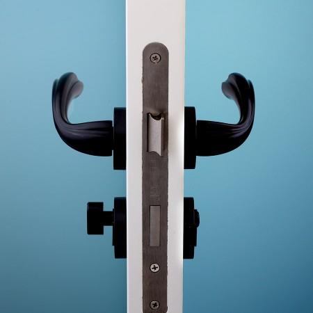 派的门标准五金锁具PD018黑色(不单卖、不含门吸)
