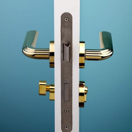 派的门标准五金锁具PD019金色(不单卖、不含门吸)