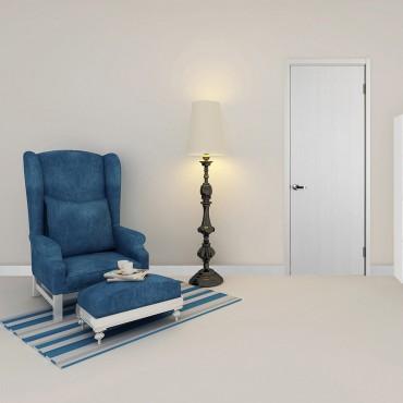 派的门实木复合门PAD001冰纹白