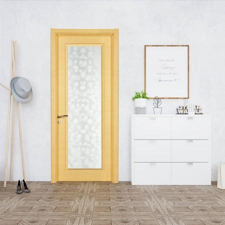 派的门实木复合门PBL001横纹米橡