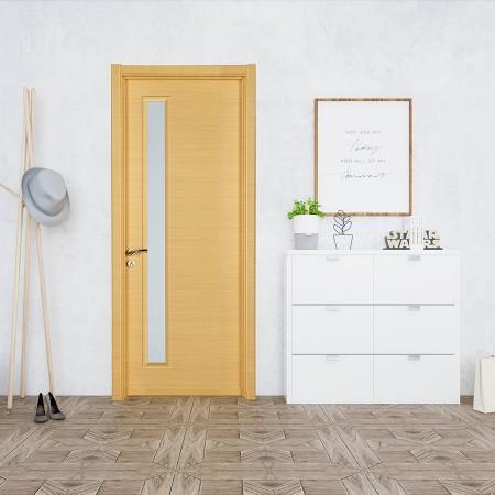 派的门实木复合门PBL003横纹米橡