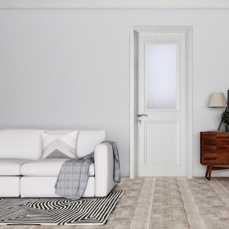 派的门实木复合门PBL005冰纹白