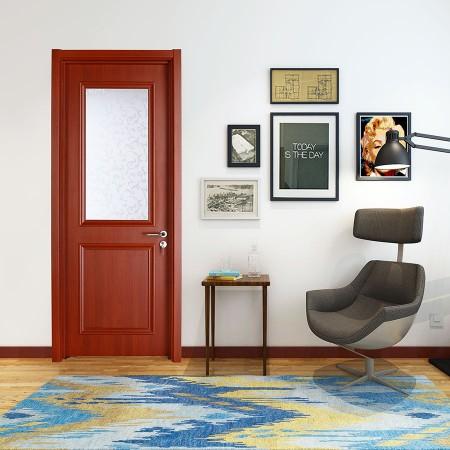 派的门实木复合门PBL005绫罗红