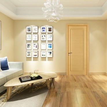 派的门实木复合门PZX003横纹米橡