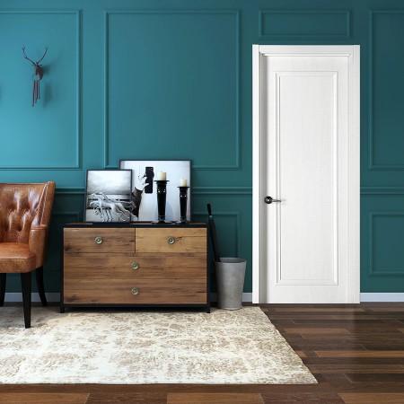派的门实木复合门PZX003冰纹白