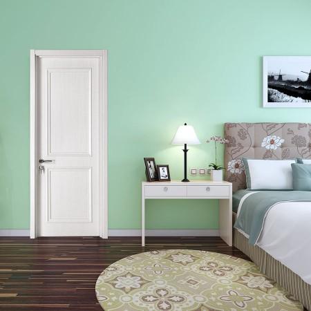 派的门实木复合门PZX004冰纹白
