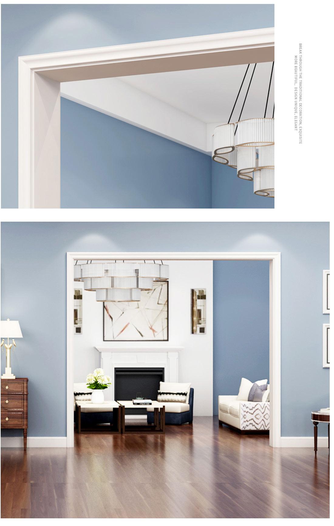 派的门白色油漆木门辅料